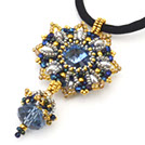 Chirby Designs Beaded Rivoli Pendant Workshop